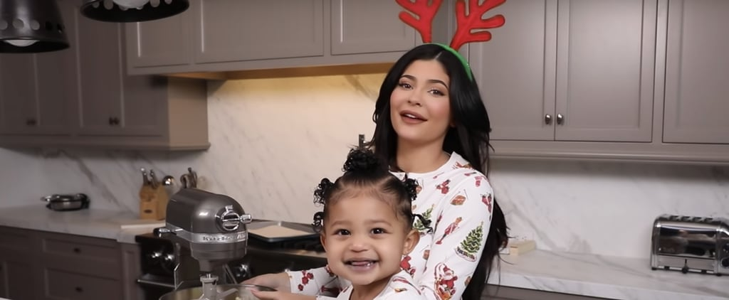 Kylie Jenner and Stormi Make Christmas Cookies
