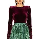 Taylor Swift's Andamane Bea Velvet Bodysuit