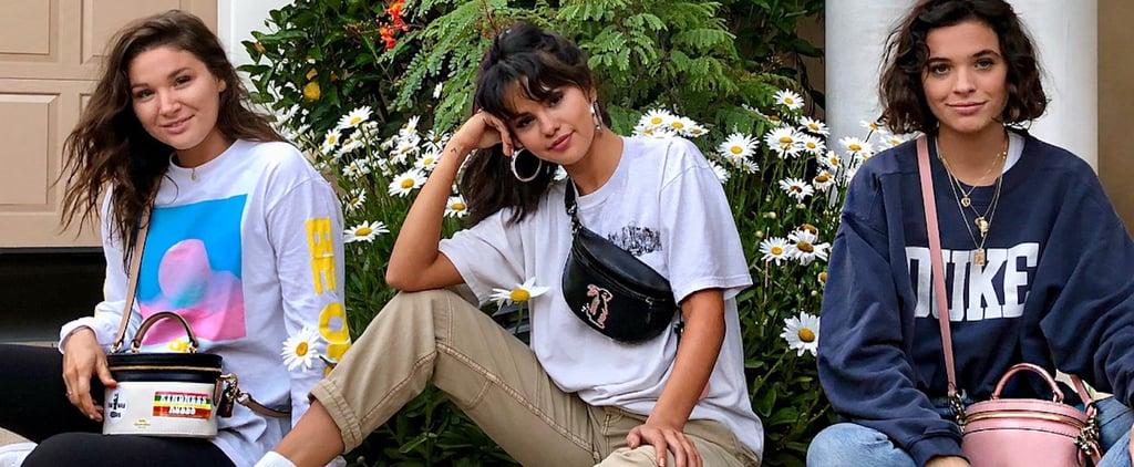 Selena Gomez Coach Bag Instagram 2018
