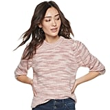 POPSUGAR Puff-Sleeve Sweater