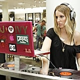 DJ Ivy set the mood.
