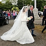 Rose Leslie Wedding Dress