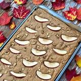 Vegan Apple Cinnamon Sheet Pan Protein Pancakes