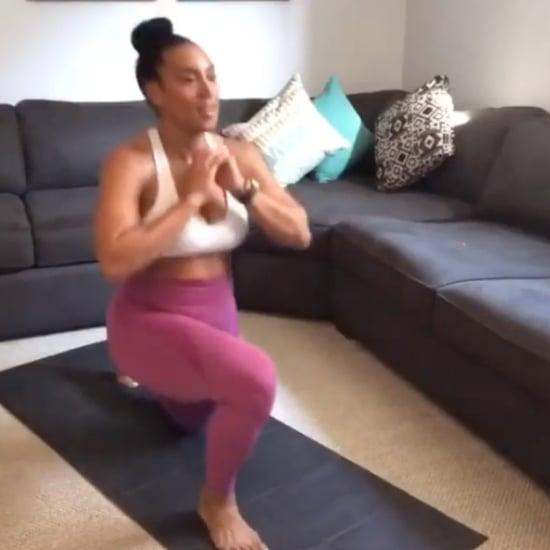 Lita Lewis's 4-Minute Bodyweight HIIT Challenge