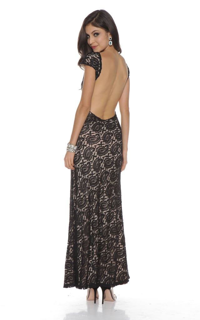 Lovers + Friends Backless Lace Long Dress ($229)