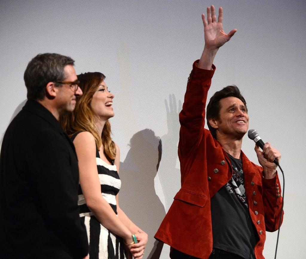 Olivia Celebrates Burt Wonderstone With Steve and Jim at SXSW