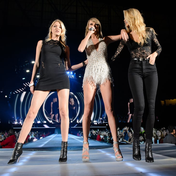 Watch Taylor Swift Work the Stage With Gigi Hadid and Martha Hunt