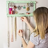SoCal Buttercup Shabby Chic Jewelry Organizer