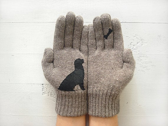 Dog Bone Gloves