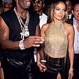 Jennifer and then-boyfriend Diddy showed up to the show hand in hand in 1999.