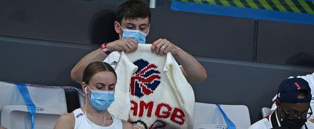 Tom Daley Shows Off His Tokyo Olympics Team GB Cardigan