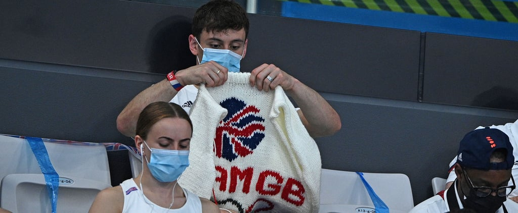Tom Daley Shows Off His Tokyo Olympic Team GB Cardigan
