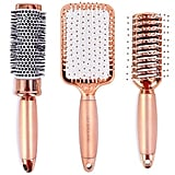 Lily England Rose Gold Hair Brush Set
