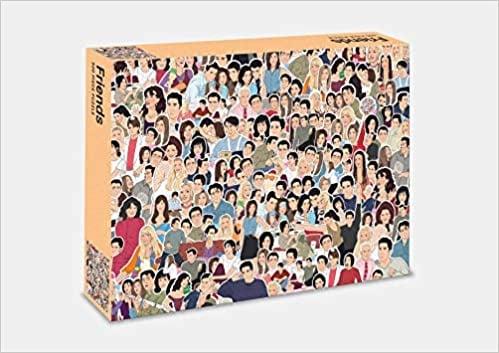 Friends: 500-Piece Jigsaw Puzzle