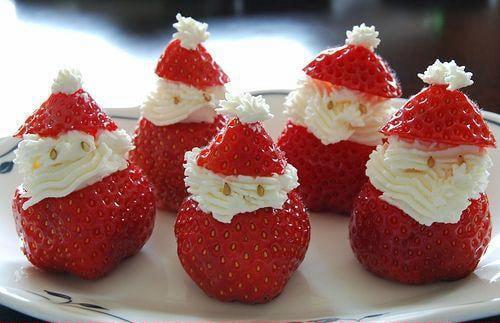 Santa Claus Strawberries