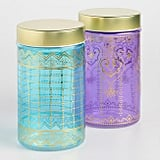 Large Glass Jaipur Storage Containers Set of Two