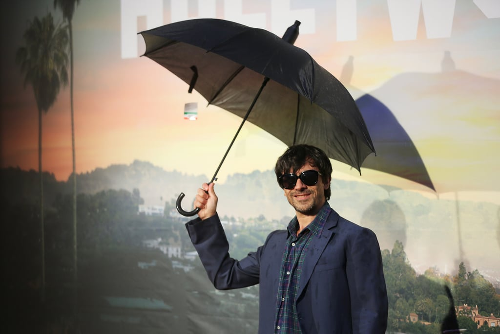 Luigi Lo Cascio at the Once Upon a Time in Hollywood premiere in Rome.