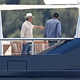 Leonardo Starts His Day With a Spielberg Visit Amid Blake Rumors