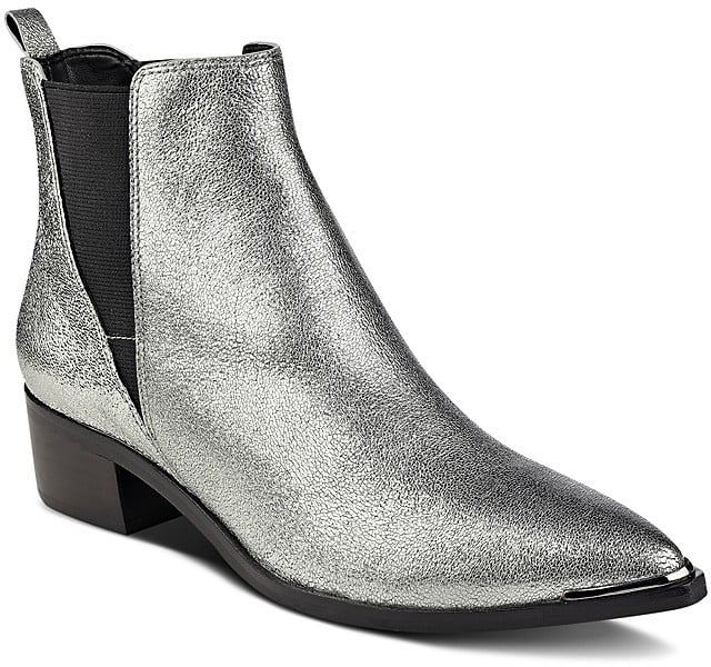 Marc Fisher Yale Metallic Booties