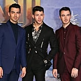 The Jonas Brothers' Dapper Movie Night