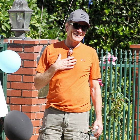 Bryan Cranston's House Decorated After the Emmys 2014