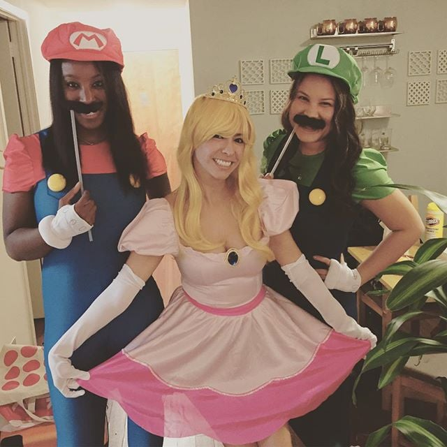 Trio Halloween Costume Ideas For Three Friends.Halloween Costumes For Groups Of 3 Popsugar Love Sex