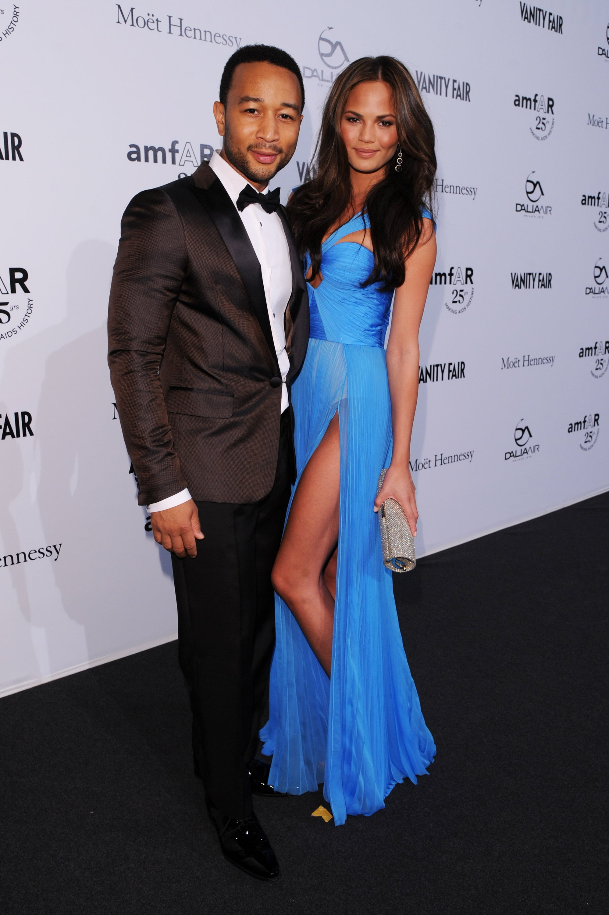 Chrissy Teigen and singer John Legend have been engaged since 2011, but they started dating in 2007. Teigen said in May 2013 that they plan to marry in the Fall.