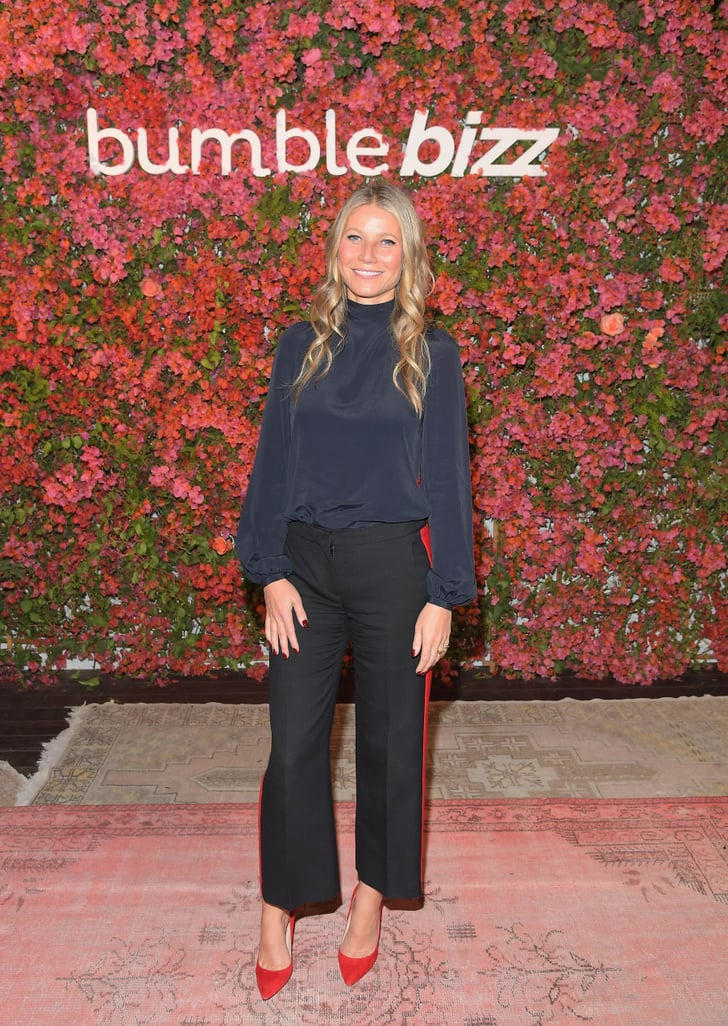 Gwyneth Paltrow's Track Pants Are Fancier Than Your Cocktail Dress