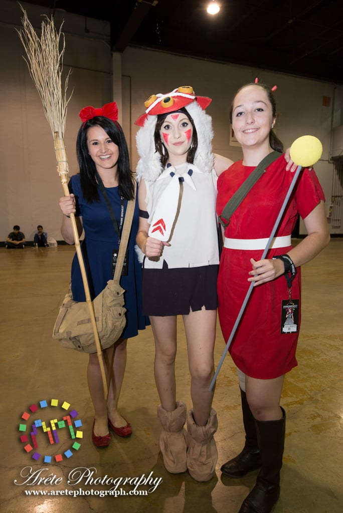 kiki princess mononoke and arrietty