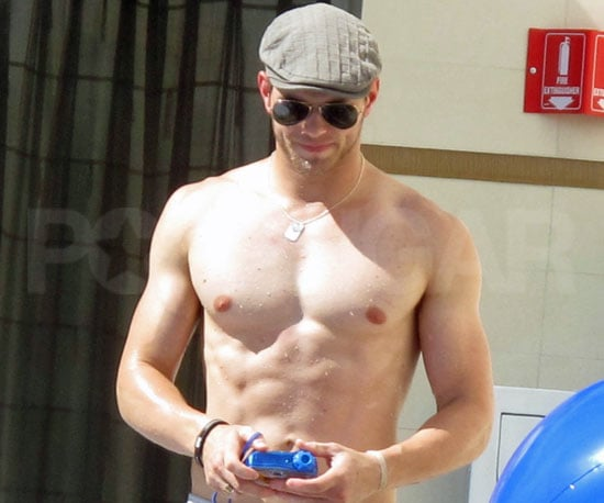 Shirtless Bracket 2nd Place: Kellan Lutz