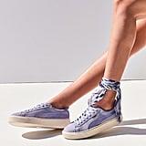 Puma Suede Summer Satin Platform Sneaker
