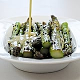 Sesame-Roasted Asparagus With Wasabi Vinaigrette