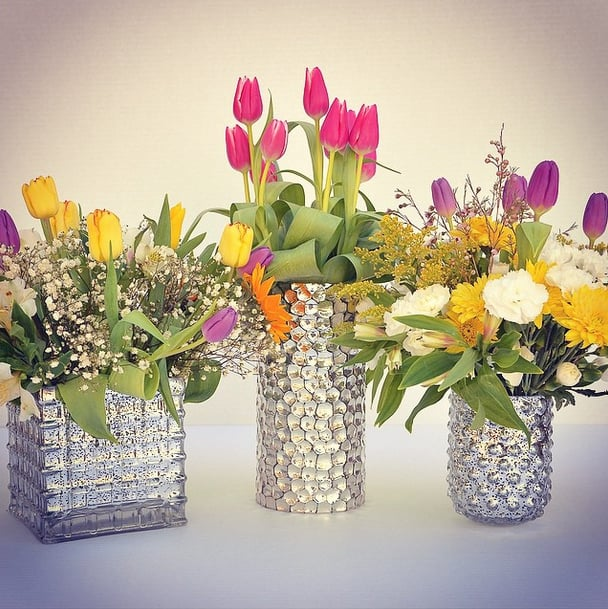 Bedazzled Vases Wedding Decorations From Homegoods Popsugar Home
