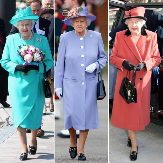 The Queen's Wardrobe Is About to Get a Bit More Colourful