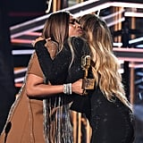 Jennifer Hudson and Mariah Carey
