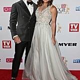 Steve Willis and Michelle Bridges, April 2014