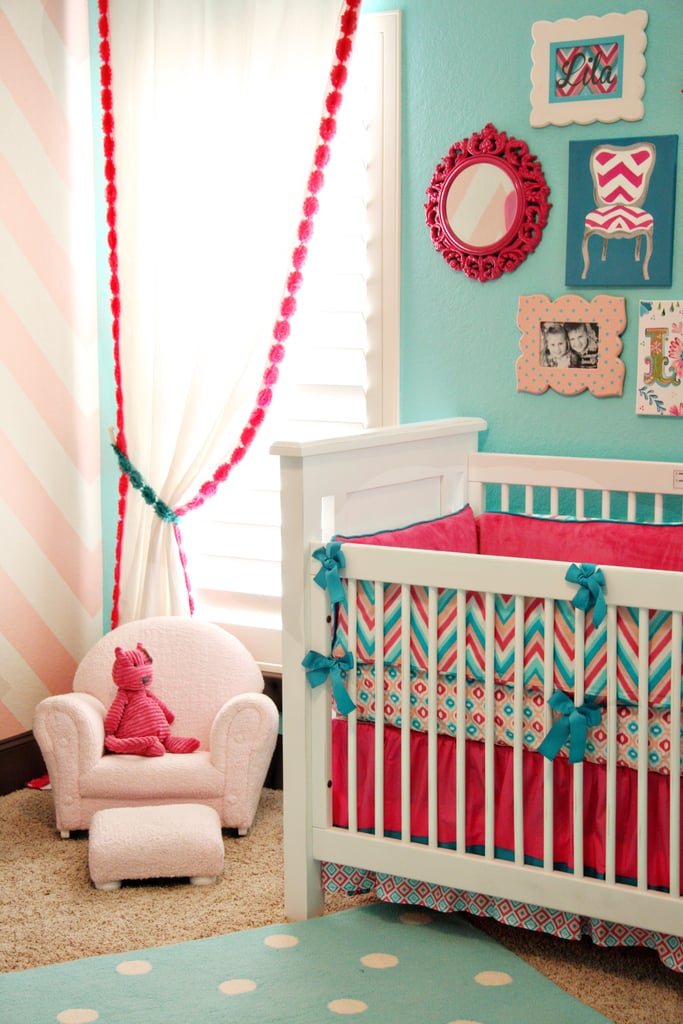 Crib Bedding and Baby Chair