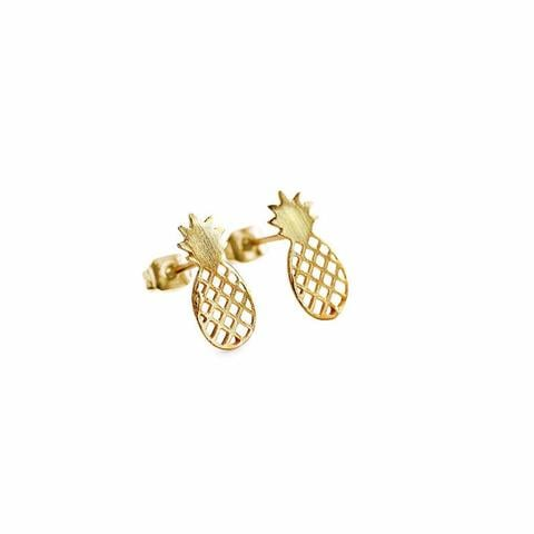 A pair of stud earrings that are also pineapples? Count us in! Mulberry and Grand Pineapple Earrings ($18)