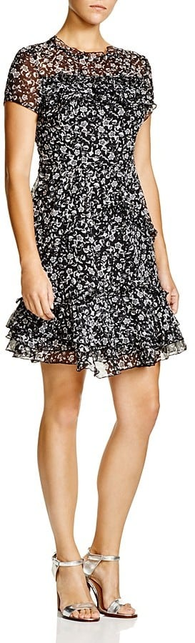 French Connection Daisy Rave Ruffle Dress ($168)