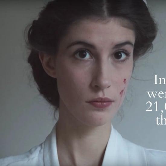 Women in History Beauty Transformation Video