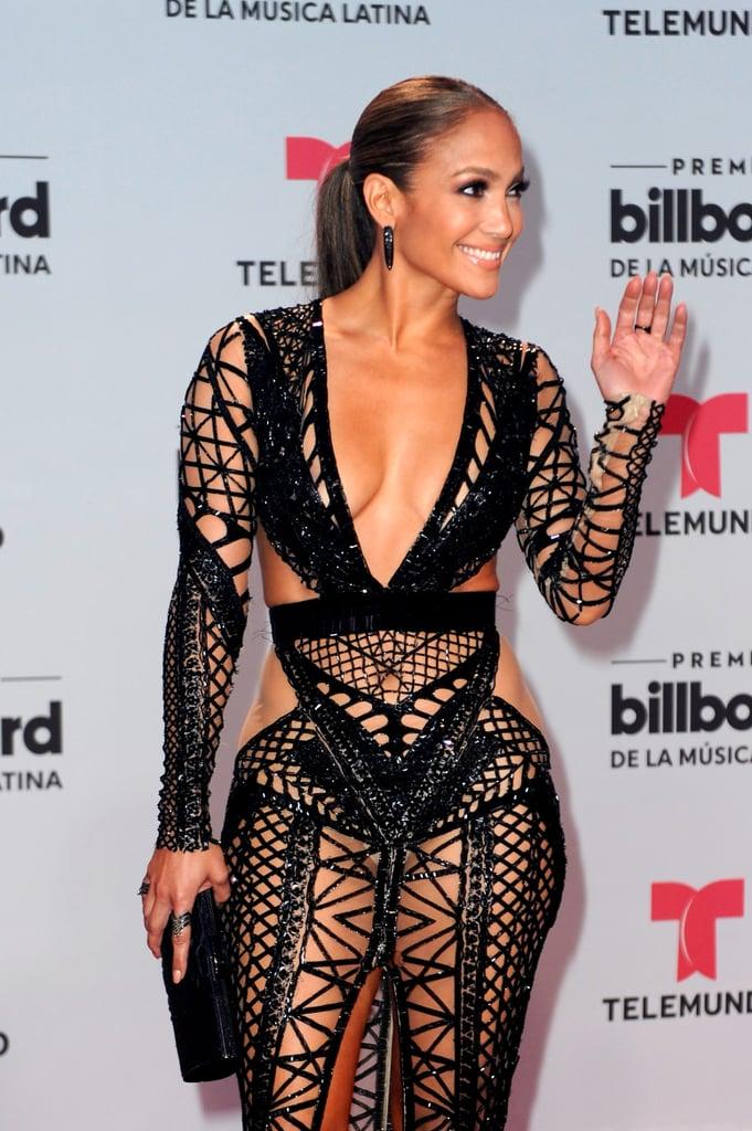 Jennifer Lopez at Billboard Latin Music Awards 2017