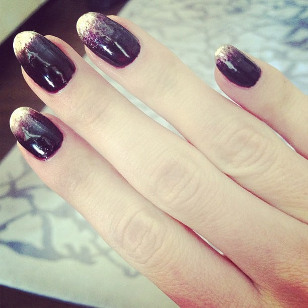 Rosie Huntington-Whiteley gave a preview of her nails. Source: Instagram user rosiehw