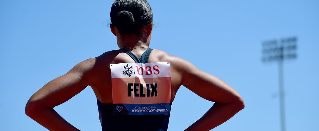 Allyson Felix Wins 150m Sprint at Inspiration Games