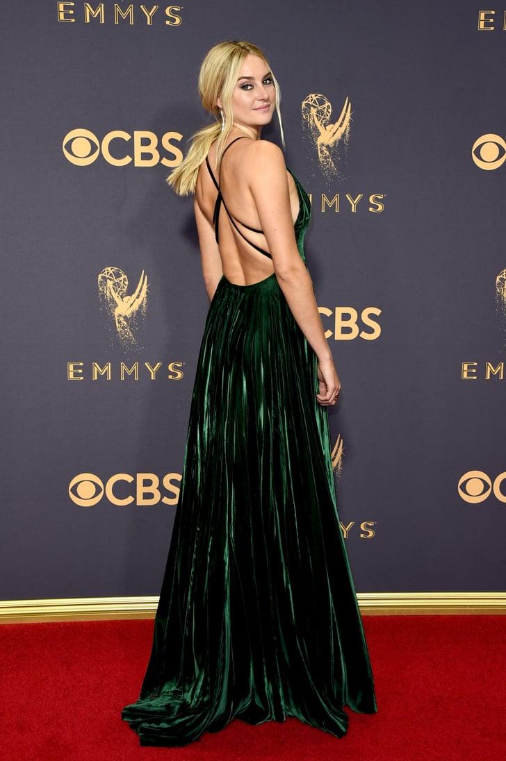 Shailene Woodley Sexiest Emmys Dresses 2017 Popsugar
