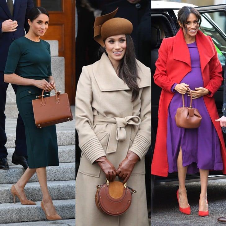 Meghan Markle Bag Brands | POPSUGAR Fashion