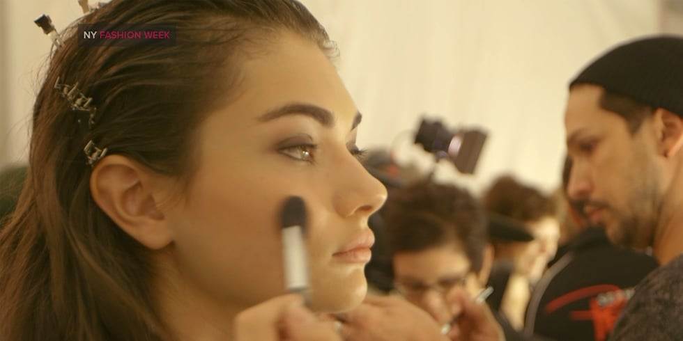 Herve Leger Spring 2014 Hair and Makeup | Fashion Week Video