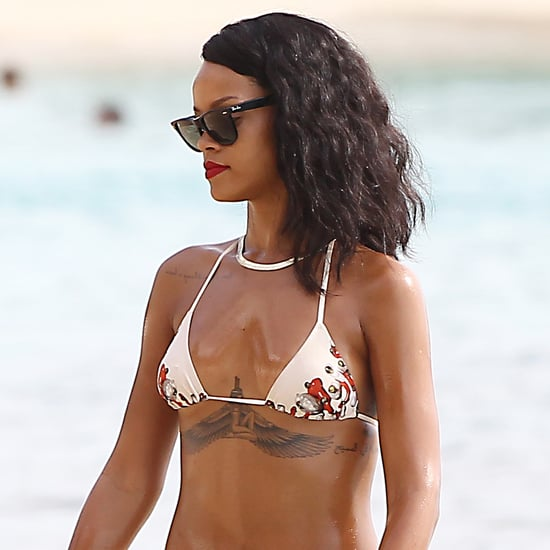 Rihanna in a Bikini in Barbados | Photos