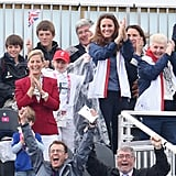Kate Middleton at Paralympic Rowing | Pictures