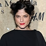 Selma Blair attended the launch of Maison Martin Margiela for H&M in NYC.