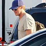 Ryan Gosling was on set in LA.